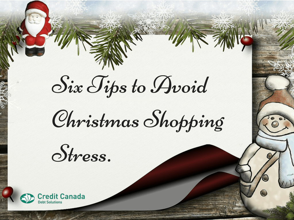 Six Tips to Avoid Christmas Shopping Stress.