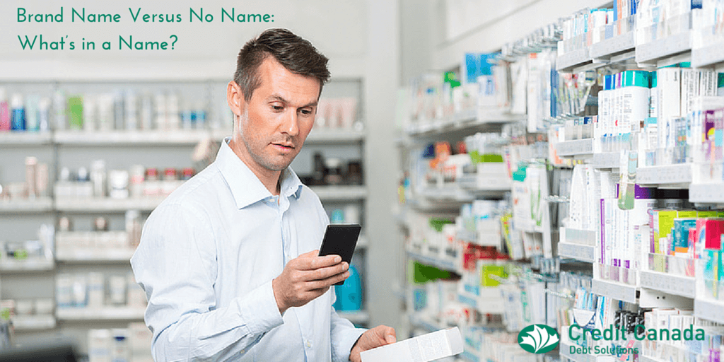 Brand Name Versus No Name: What's in a Name?