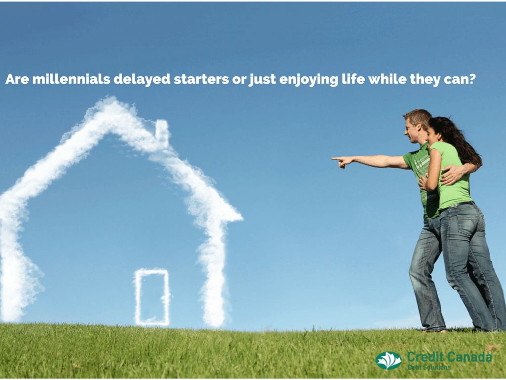 Are Millennials delayed starters or just enjoying life while they can?