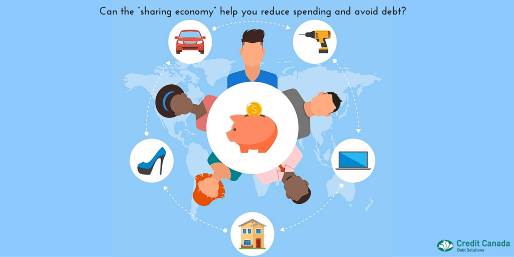 "Can the ""sharing economy"" help you reduce spending and avoid debt?"