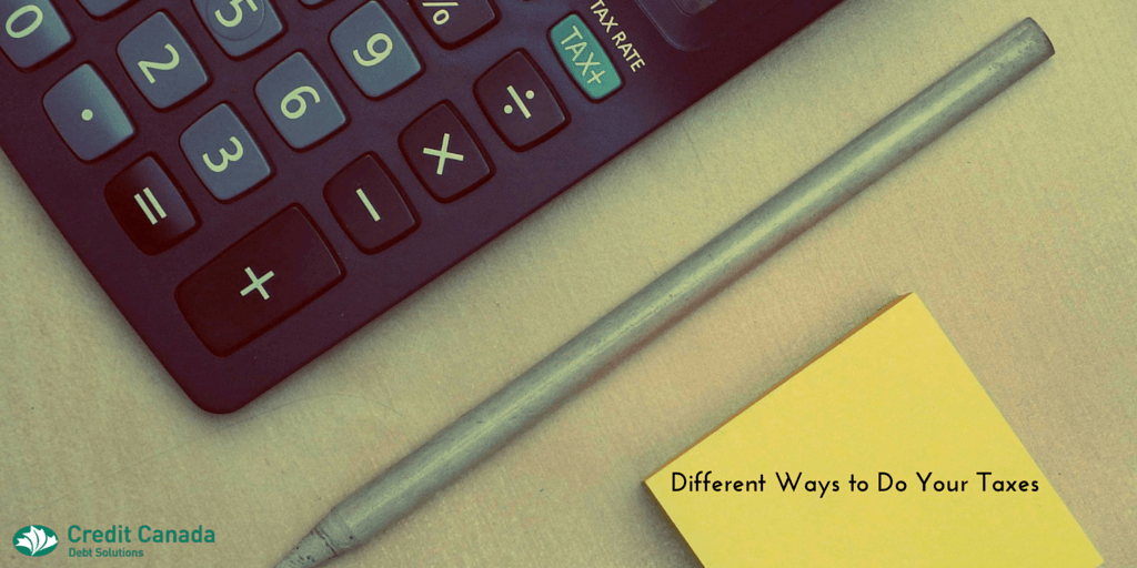 Different Ways to Do Your Taxes