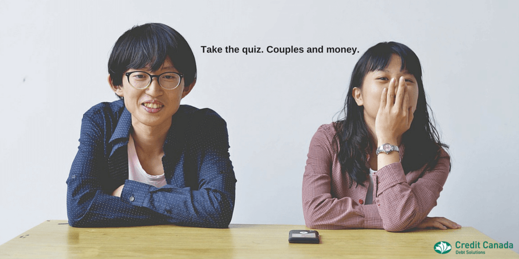 Take the quiz: Couples and money.