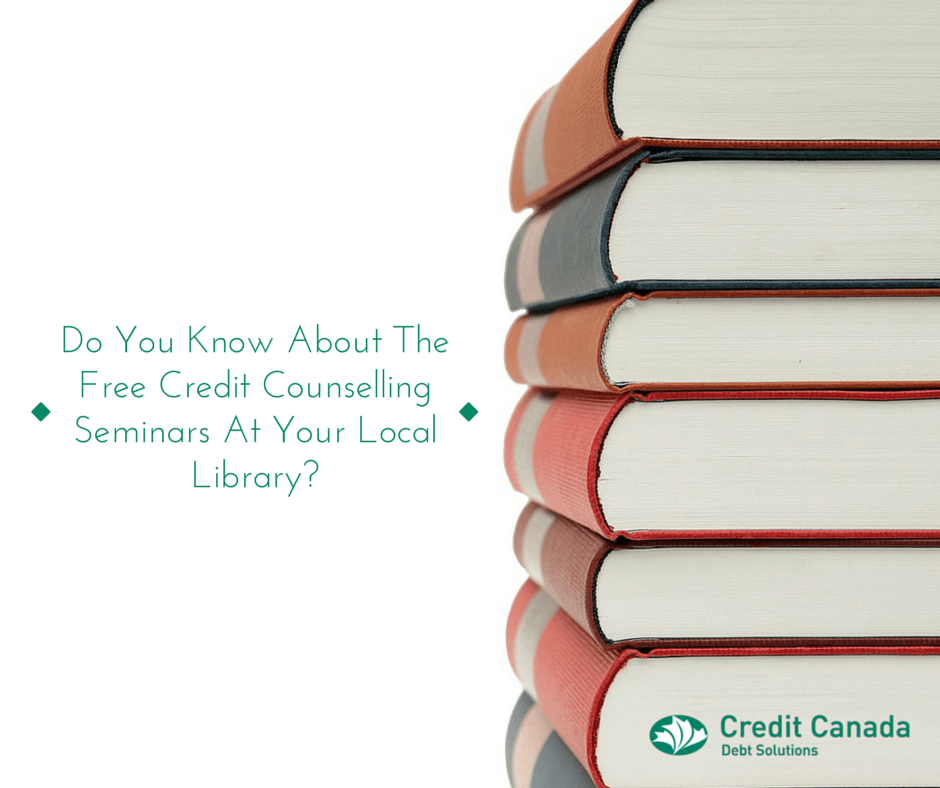 Do You Know About The Free Credit Counselling Seminars At Your Local Library?