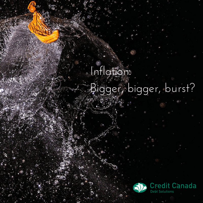Inflation: Bigger, bigger, burst?
