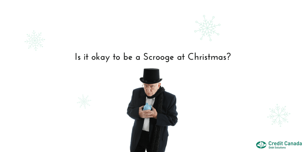 Is it okay to be a Scrooge at Christmas?