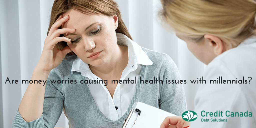 Are money worries causing mental health issues with Millennials?