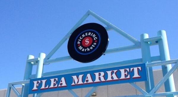 The Pickering Flea Market, a bargain Queen's love story