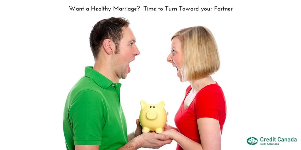 Want a Healthy Marriage? Time to Turn Toward your Partner.