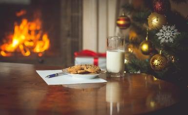 Santa, cookies and milk on Christmas.jpg