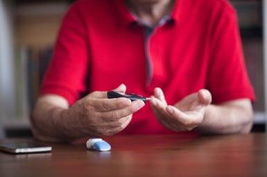 Old man diabetes prevention