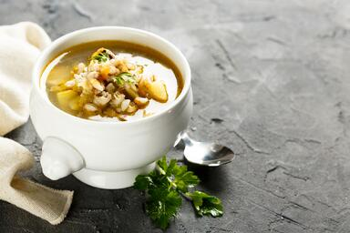 Turkey and Barley Soup
