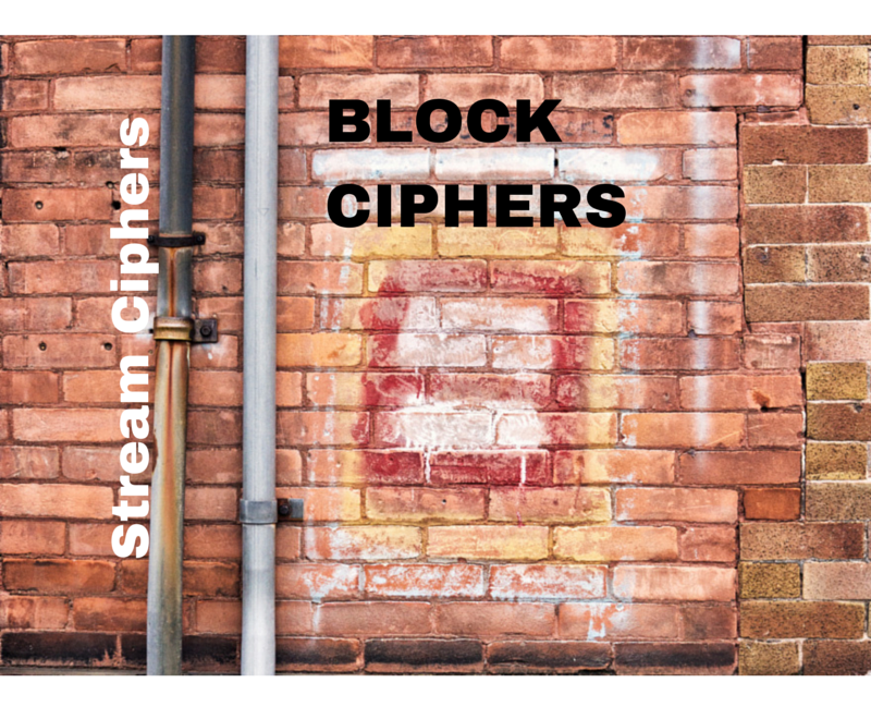 an introduction to stream ciphers and block ciphers
