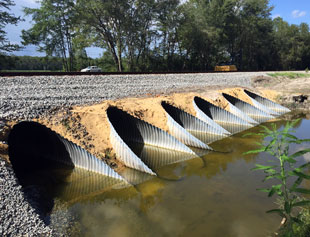 CSX Reline for Timber Beam Bridges