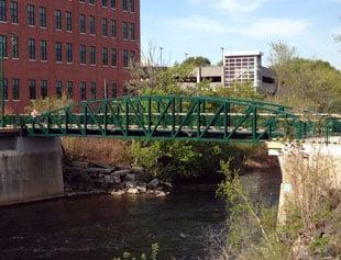 Bridge Street over Presumpscot River