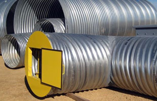Using Corrugated Steel for Reclaim Tunnel Applications