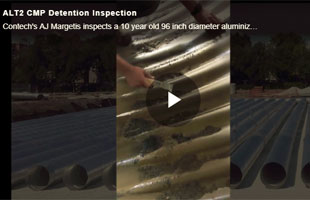Durability of Aluminized Type 2 Corrugated Steep Pipe Detention Systems