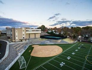 JFK High School Synthetic Turf Field