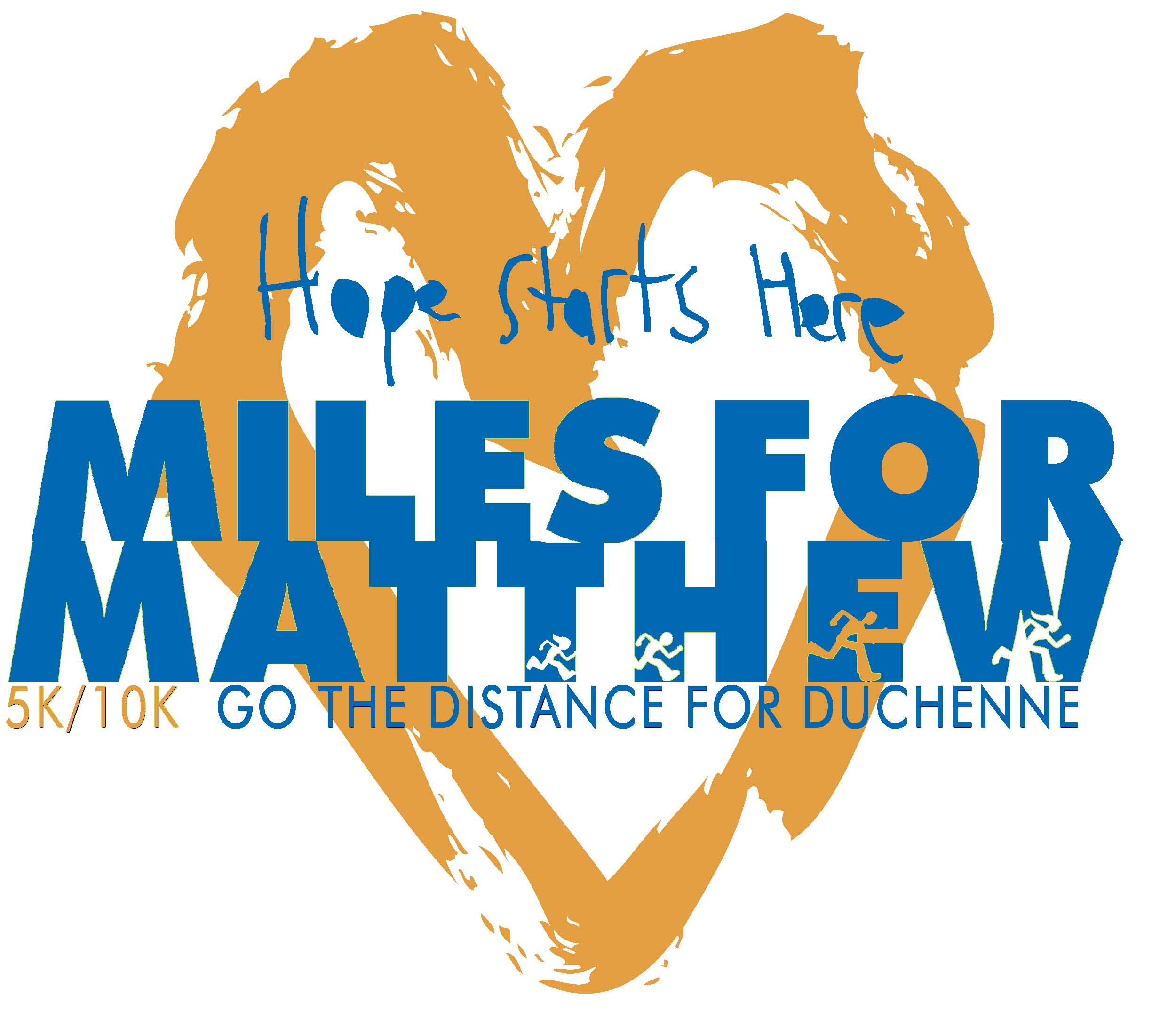 Miles for Matthew is a 5K/10K run benefitting research and awareness for Duchenne muscular dystrophy.