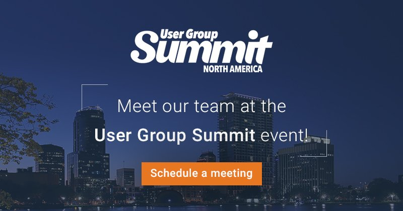 Are You Attending the User Group Summit, North America?