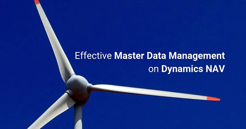 Master Data Management on Dynamics NAV with Replication Management
