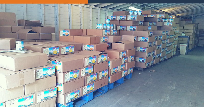 Real-Time Inventory Management in Food Distribution