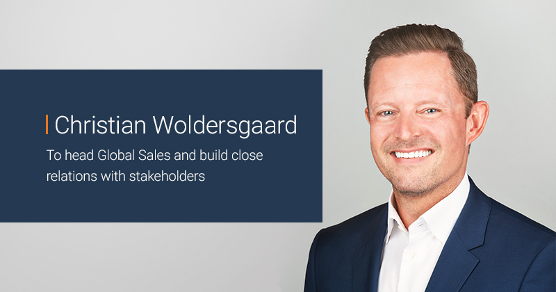 To-Increase announces that Christian Woldersgaard will take over the role of Vice President, Sales