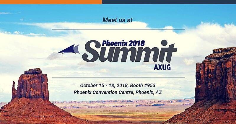 3 reasons why you should meet us at the AXUG Summit Phoenix
