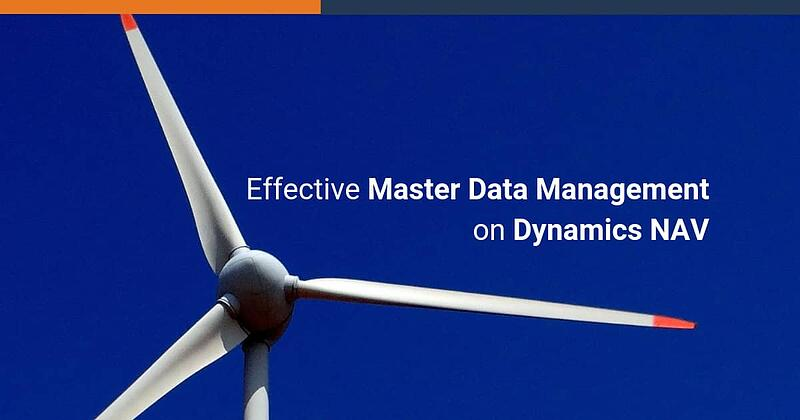 Effective Master Data Management on Dynamics NAV, with To-Increase Replication Management