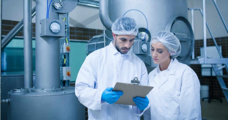 Food industry document and item lifecycle management