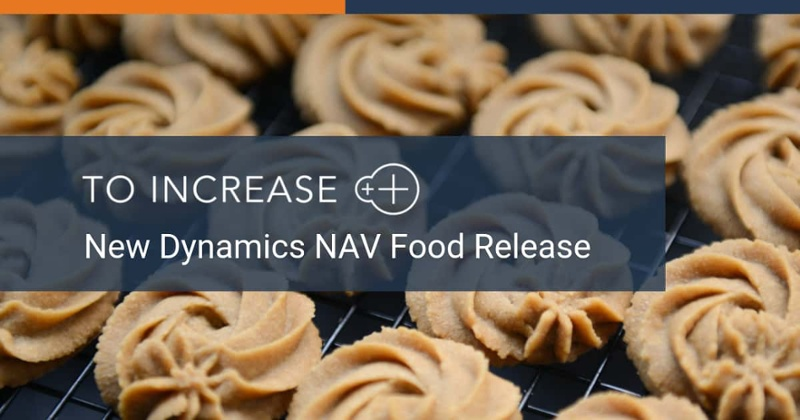 Our new Dynamics NAV food release is available