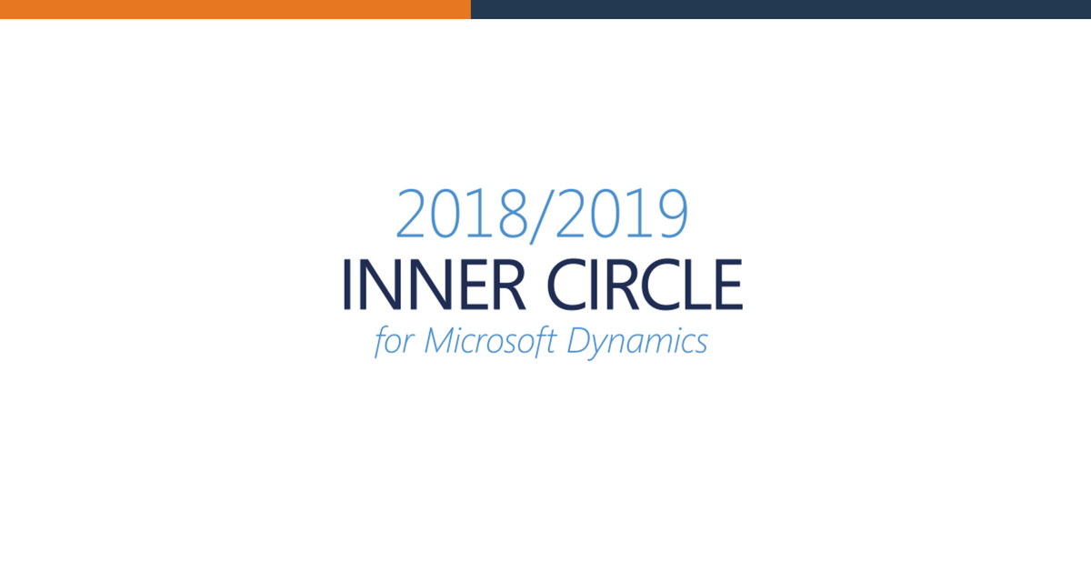 To-Increase achieves 2018/2019 Inner Circle for Microsoft Dynamics for the 11th time