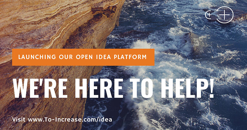 To-Increase Launches Open Idea Platform for Customers