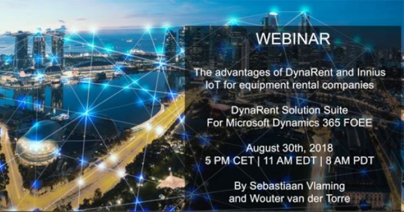Webinar: The advantages of DynaRent and Innius IoT
