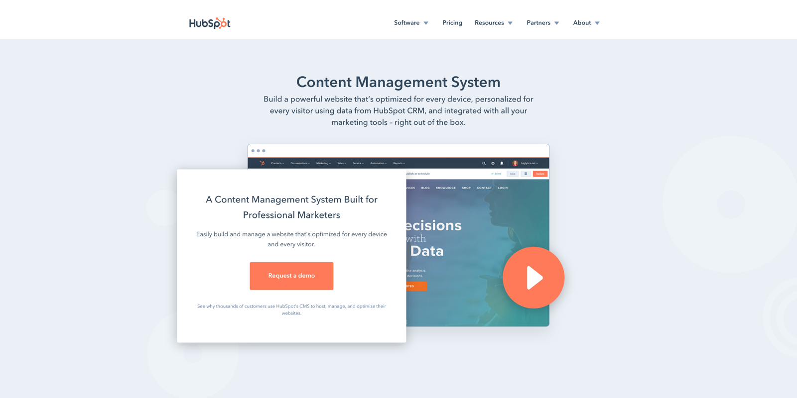 HubSpot CMS - Why you should consider it