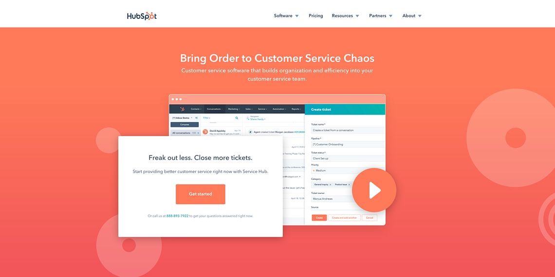 HubSpot Service Hub - Overview and Demo Video