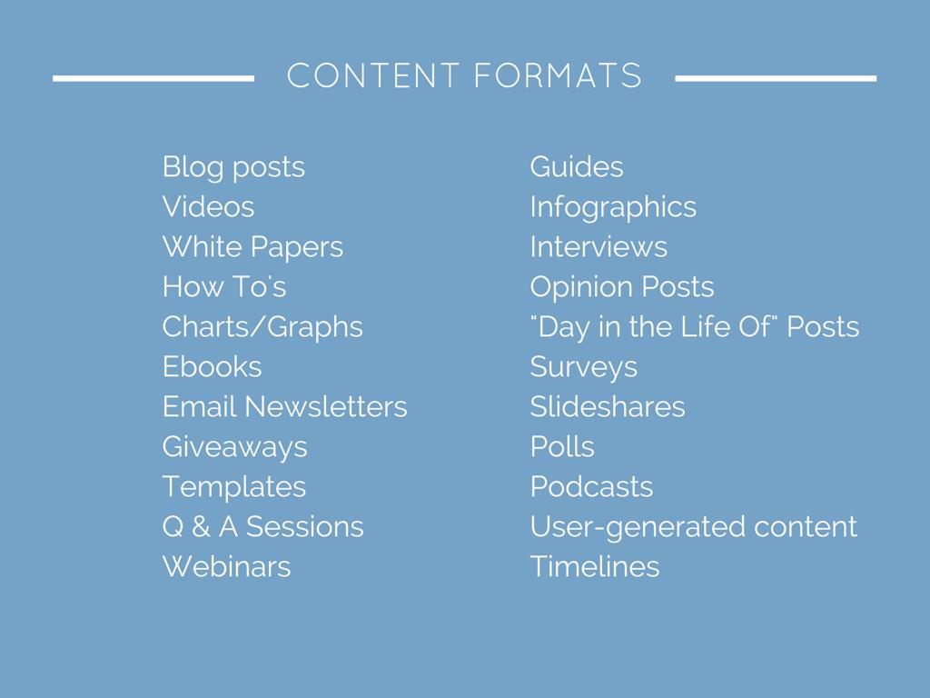 Content_Formats