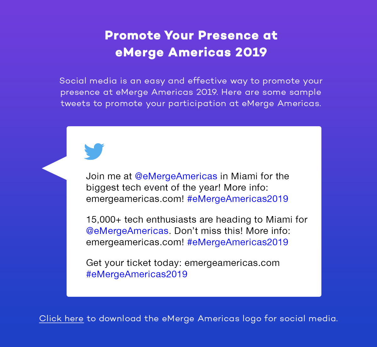 Promote your presence