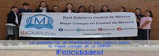Mathletics nos reconoce como el Mejor Colegio en CDMX