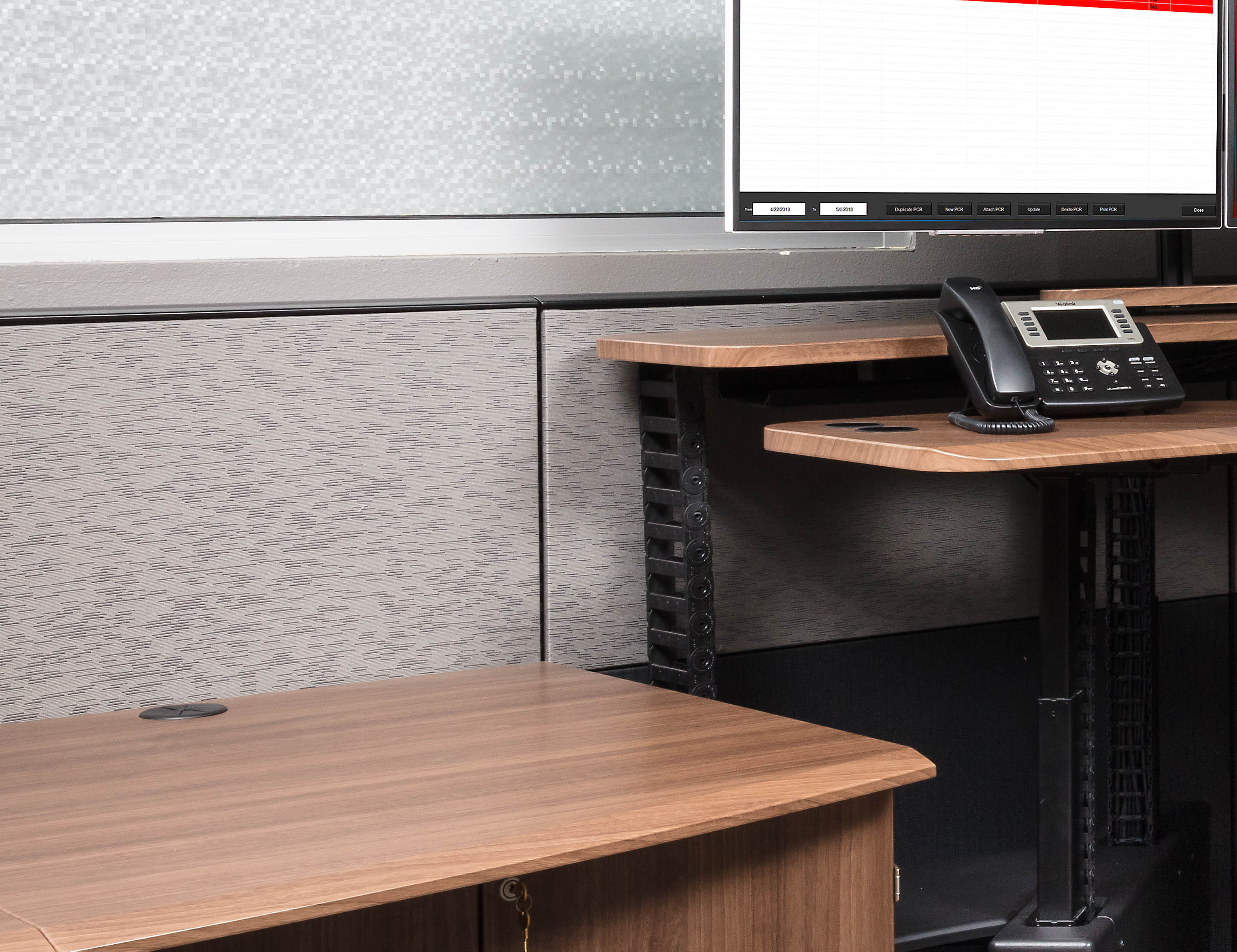 Xybix Acoustic Tile Panels for Workstations