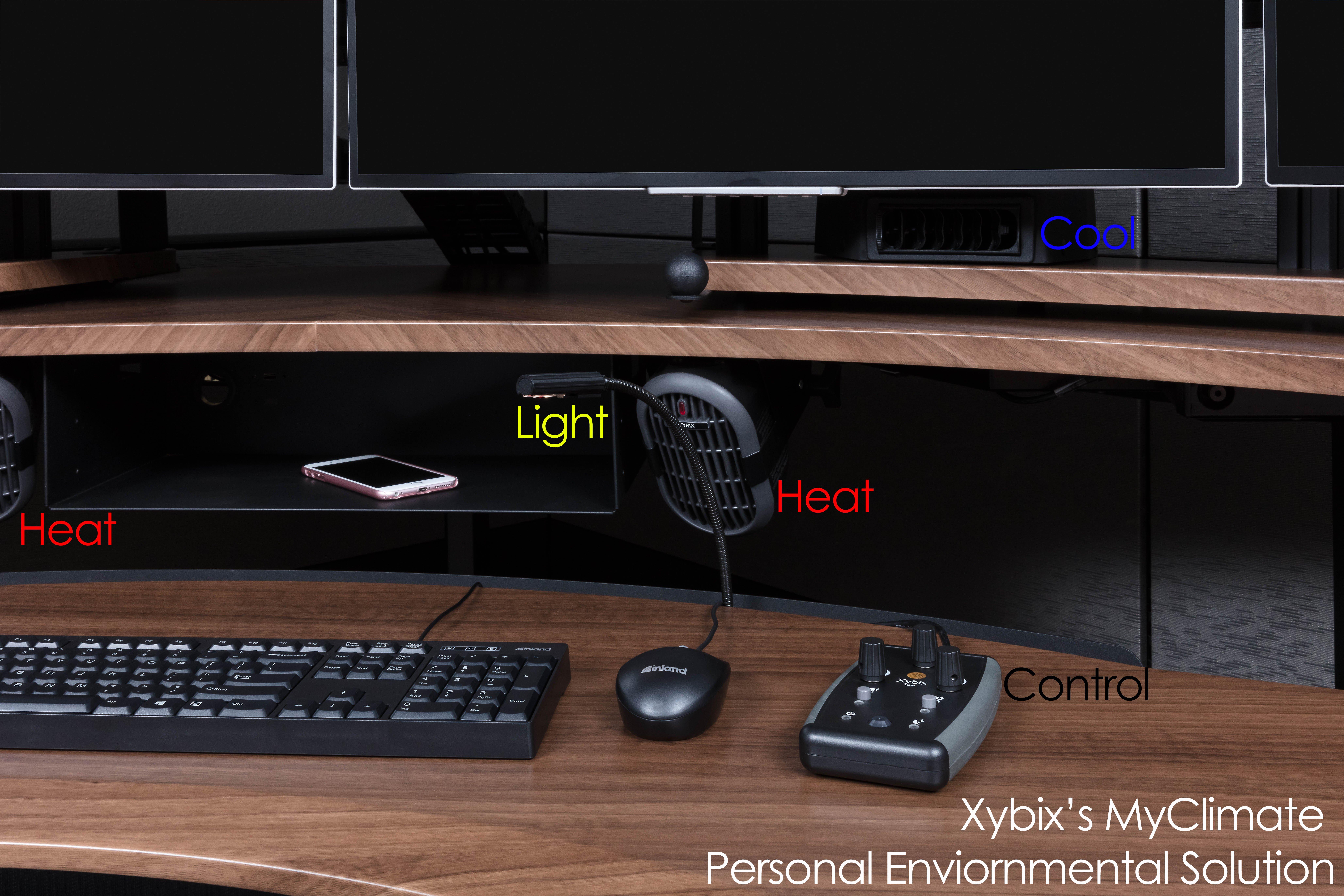 Xybix Personal Climate Controls