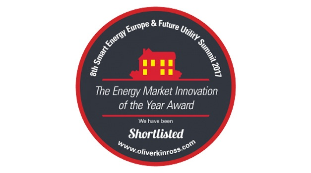 ENVI shortlisted for the Energy Market Innovation of the Year Award at 8th Smart Energy Awards