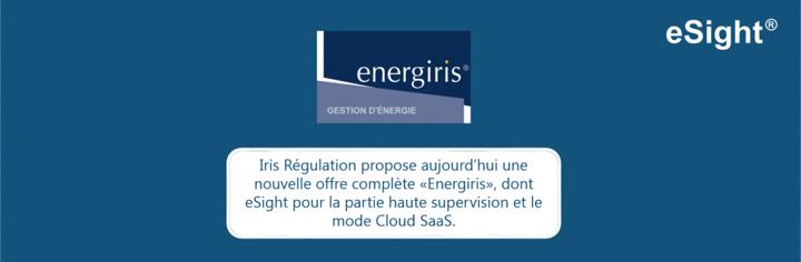 Iris choisit eSight pour la couche haute supervision de son offre Energiris