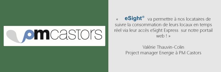 PM Castors gère la partie énergie de son activité avec eSight