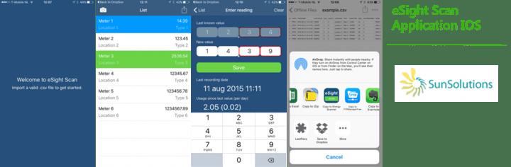 eSight Scan, une nouvelle application IOS pour importer ou exporter vos données dans eSight.