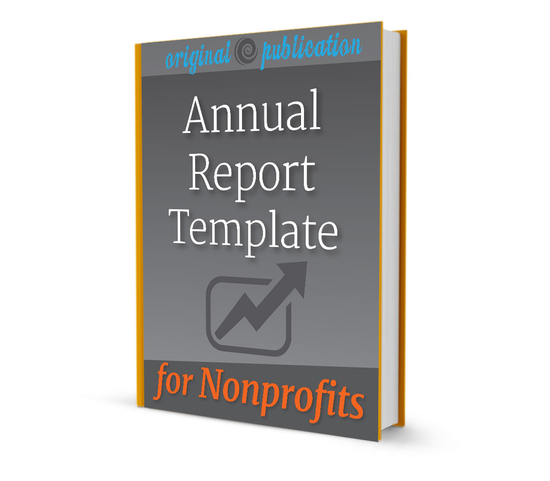 annual report format template
