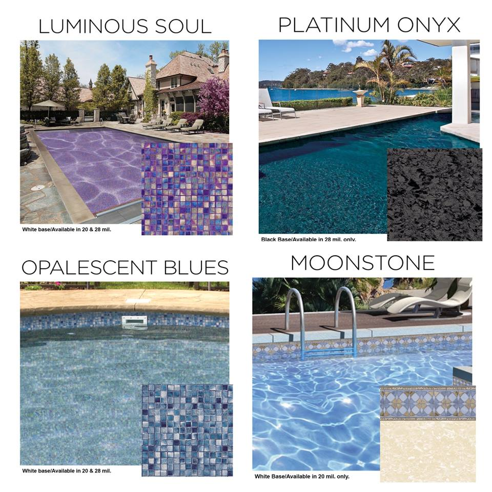 Exclusive New Pearlessence Pool Liners Now Available From