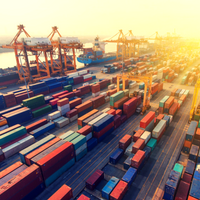Average Number of Containers Off-Loaded at Terminals Climbs