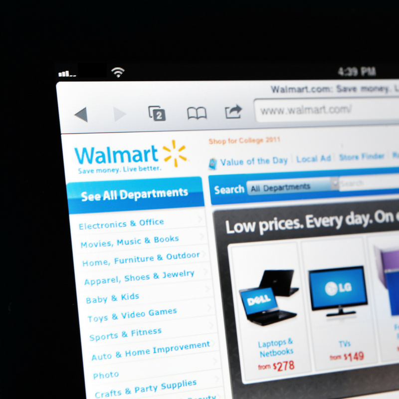 Walmart Submits Patent for 3D Technology