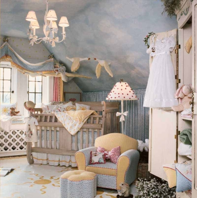 A Busy Baby Nursery for Your DIY Home Improvement List