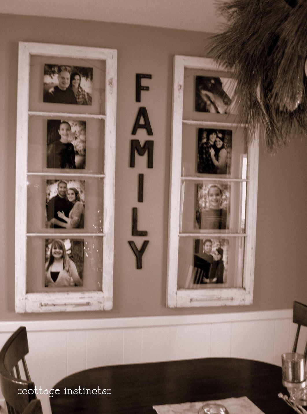 Old window picture frame pinterest crafts for Decoration usine vintage